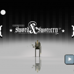 Sword and Sworcery Title Screen